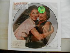 """NEW KRISTOFFERSON COOLIDGE 33 12"""" PICTURE VINYL SEALED NATURAL ACT A&M PR-4690 #1970s"""