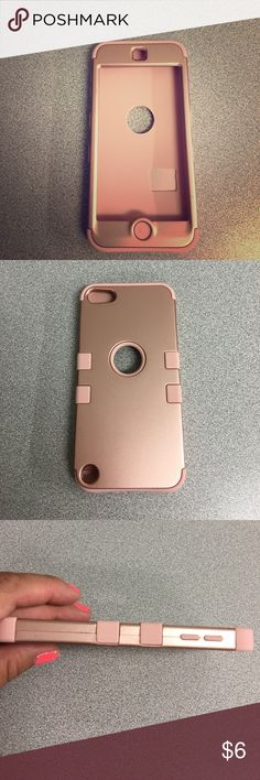 iPhone 6 case Rose gold silicon iPhone 6 case. Bought and never used. Dresses