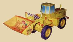 Front Loader TO-28 Ver.2 Free Construction Vehicle Paper Model Download