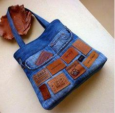 Luty Artes Crochet: Bolsas customizadas