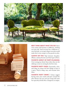 Moss covered table and chairs - newspaper, chickenwire, adhesive and...moss, easy!