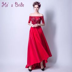 ... robe de soiree longo abendkleider Evening Gowns  Affiliate.    Click to  Buy    2017 New Arrival Wine Red Court Train Boat Neck.    7b6bdaf0fb33
