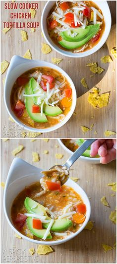 Best Slow Cooker Chicken Tortilla Soup