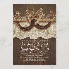 Country Wedding Invitations, Rehearsal Dinner Invitations, Engagement Party Invitations, Rustic Invitations, Bridal Shower Invitations, Country Wedding Favors, Invitation Wording, Invitation Cards, Wedding Cards