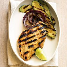 Lime and Pepper Grilled Chicken Breasts - Favorite Camping Recipes for Dinner - Sunset
