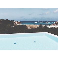 IS travel ~ infinity #pool #beach #sea #summer #formentera #island