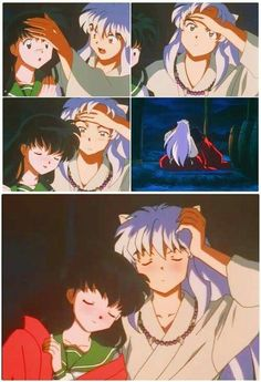 DAY My favorite anime couple is InuKag (Inuyasha and Kagome), they really are best together. Amor Inuyasha, Inuyasha Funny, Kagome And Inuyasha, Got Anime, I Love Anime, Manga Anime, Anime Nerd, Miroku, Kagome Higurashi