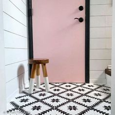 Our Tile stencils work fabulously on walls, backsplashes or in place of popular cement floor tiles. Our tile stencil designs are super easy to use and provide big savings to more costly alternatives of wallpaper and floor tiles. Painting Tile Floors, Painted Floors, Stencil Painting, Painted Bathroom Floors, Painted Tiles, Faux Painting, Stenciling, Cutting Edge Stencils, Large Stencils