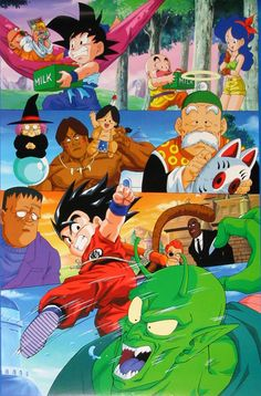 80s & 90s Dragon Ball Art : Photo