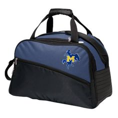 McNeese State Cowboys Tundra Duffel Cooler - Navy Blue - $65.99
