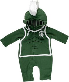 Michigan State Spartans Infant Fleece Costume #Halloween #Spartans