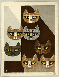 Cats Face - 7, 1967