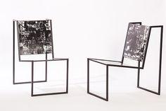 Chaises Chiaroscuro, Pedro Barrail (Cristina Grajales Gallery) © Cristina Grajales Gallery