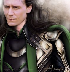 Loki My Sun And Stars • mmehiddleston:   amatasera:   I haven't worked on...