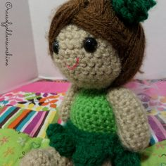 Fairy Doll Hand Crocheted     Made just by raesofgoldensunshine