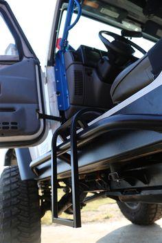 Rock Hard 4x4™ Trail Step For Jeep Wrangler TJ/LJ 1997   2006,