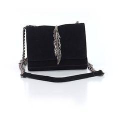 Pre-owned Zara Crossbody Bag: Black Women's Bags (£22) ❤ liked on Polyvore featuring bags, handbags, shoulder bags, black, zara crossbody, handbags shoulder bags, handbags crossbody, crossbody shoulder bags and zara purse