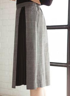 チェック柄プリーツポイントスカート スカート | おしゃれな大人レディースファッション通販STYLE DELI
