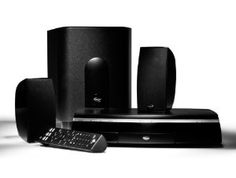 Klipsch CS-500 2.1 Home Theater System with DVD Player by Klipsch. $250.00. Amazon.com                 Sleek, simple, and small, the Klipsch CS-500 2.1 home theater system with DVD player delivers the effect of a large, 5.1 home theater system with just two speakers, a subwoofer and an A/V center. It features a built-in Class D amplifier that distributes 35 watts of power to each satellite and 100 watts of power to the subwoofer.  See larger image.  Each magnet...