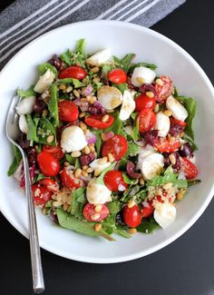 Couscous Salad with Cherry Tomatoes and Mozzarella | Green Valley Kitchen