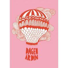 Dagen är din pink Posters, Illustrations, Cards, Poster, Illustration, Postres, Maps, Banners, Illustrators