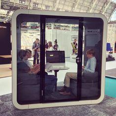 Framery Q booth  #frameryacoustics #framery  #frameryfinland #openplanoffice #workplace #acoustics #100design #madeinfinland #acousticbooths #officeacoustics #workspace #openoffice #officeblueprint #ldf16