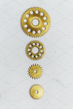 Ad: Gears and watch parts by Elena Vagengeim on @creativemarket. Screw heads, gears, textures and other metal details. #creativemarket Technology Photos, Gears, Steampunk, Crochet Earrings, Objects, Stock Photos, Texture, Watch, Metal
