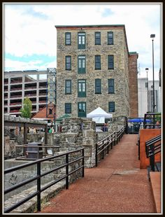 High Falls Area, Rochester NY...where Marty Fox had his advertising business!  Lovely place!