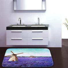 Wind Turbine Theme Extra Large Door/Bath Mats online #bathmats #doormats #cotton #cortina #india #homedecor #onlineshop #onlineshoppiog #online #pinoftheday #pinofday