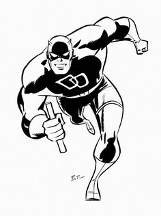 Daredevil by Bruce Timm