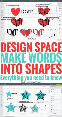 Edit Shapes in Cricut Design Space – Cut Out Text | Make words into Shapes. Shapes are one of the most important features in Cricut Design Space, and on this tutorial you are going to learn how to use them to perfection. #cricut#cricutdesignspace#cricutmade#cricutmaker#cricutexploreair2#cricuttutorials#designspace
