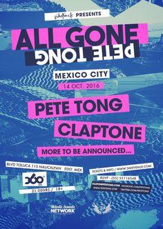 #EventoHYPE: It´s All Gone Pete Tong + Claptone en México este 14 de octubre /Por #HYPEméxico