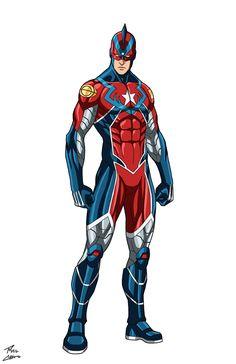 Superhero Images, Superhero Characters, Dc Comics Characters, Superhero Design, Marvel Dc, Marvel Comics, Steel Dc Comics, Alternative Comics, Justice League Dark