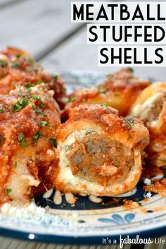 It just isn't pasta without meatballs. Get the recipe from It's a Fabulous Life.   - Delish.com