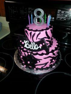 My sweet girl's birthday cake! It was yummy!