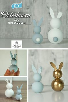 diy-aus-holzkugeln-suse-osterhasen-basteln/ delivers online tools that help you to stay in control of your personal information and protect your online privacy. Wooden Crafts, Wooden Diy, Diy And Crafts, Diy Osterschmuck, Diy Ostern, Christmas Baskets, Diy Easter Decorations, Basket Decoration, Wooden Dolls