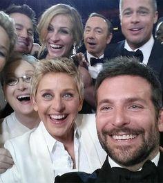 Le tweet le plus partagé de tous les temps est désormais un selfie bourré de stars
