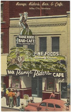 Range Riders Bar • Miles City, Montana