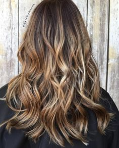 Light+Brown+Blonde+Balayage+Highlights