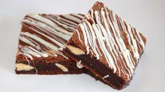 White choc chunk brownie