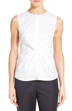 BOSS 'Bitwisti' Sleeveless Blouse available at #Nordstrom