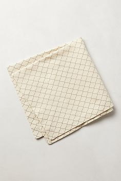 Anthropologie Scroll-Weave Napkins -- $7 Each
