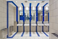 QV Amenities Designer: Russell & George  Lighting: ambience  Photo: Dianna Snape