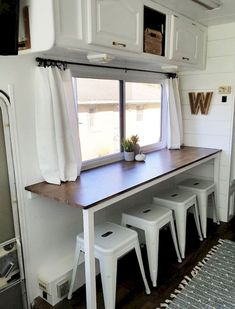 20 Inspiring RV makeovers and renovations, and a peek at our RV camper trailer b. 20 Inspiring RV makeovers and renovations, and a peek at our RV camper trailer before we renovate. Trailers Camping, Camper Trailers, Rv Camping, Glamping, Camping Hacks, Small Camper Trailer, Small Rv Trailers, Space Trailer, Utility Trailer Camper