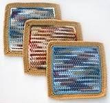 Crochet dishrags.