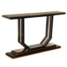 Modernist Console Table | From a unique collection of antique and modern console tables at http://www.1stdibs.com/furniture/tables/console-tables/