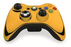 Custom Xbox 360 Controller  Wireless Glossy Green Beige-And-Half-Light Green- Without Mods