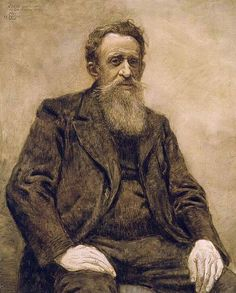 Théo Van Rysselberghe • Portret van Constantin Meunier, 1888