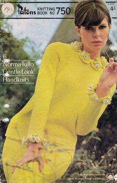1960s Vintage Knitting & crochet pattern by allthepreciousthings, $9.50