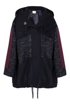 12 Chic Anoraks, Because Winter Is Coming - Roksanda Ilincic Oversized Wool Parka, $2,950, available at Net-a-Porter